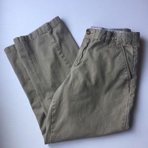 IZOD Khaki Boys Husky Pants  Size 14 Husky